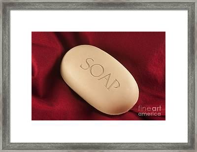 Soap Bar Framed Print by Blink Images