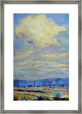 Soaring Framed Print by Donald Maier