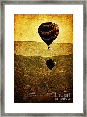 Soaring Heights Framed Print by Andrew Paranavitana
