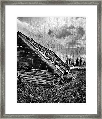 Society Contradiction  Framed Print by Empty Wall