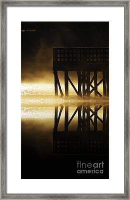 Soddy Pier Framed Print by Steven Lebron Langston