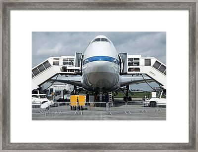 Sofia Airborne Observatory Aircraft Framed Print