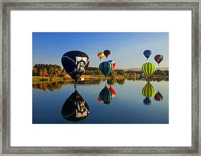 Soft Landings Framed Print by Mike  Dawson