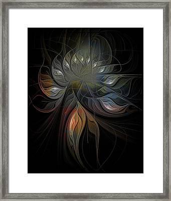 Soft Metals Framed Print by Amanda Moore