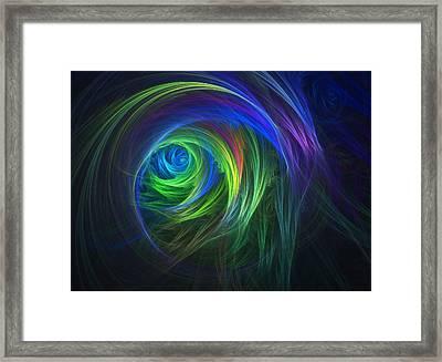 Soft Swirls Framed Print by Lyle Hatch