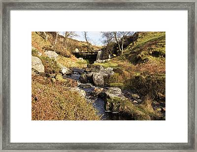 Soft Water Framed Print by Fiona Messenger