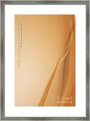 Softly Ebbing Framed Print by Vicki Ferrari Photography