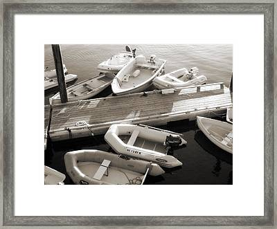 Softly Floating Framed Print by Scott Norris