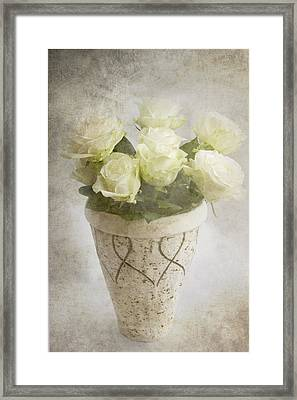 Softly Wispering I Love You Framed Print
