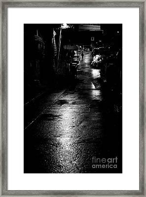Soho Noir Framed Print by Dean Harte