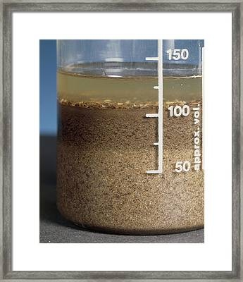 Soil Analysis Framed Print by Sheila Terry