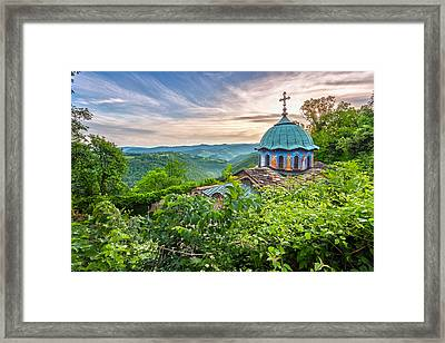 Sokolski Monastery Framed Print by Evgeni Dinev