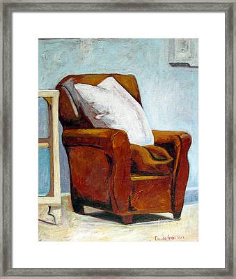Solace  Framed Print by Charlie Spear