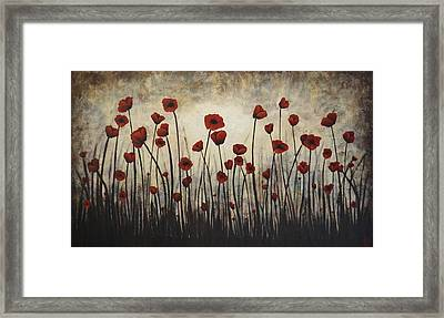 Solace Framed Print by Holly Donohoe