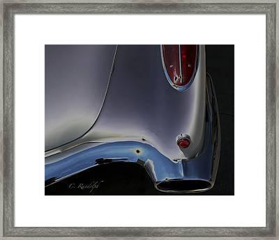 Framed Print featuring the photograph Solar Chrome by Cheri Randolph