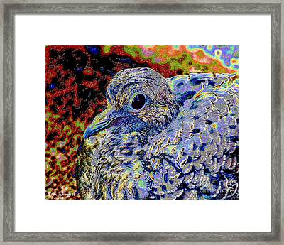 Solar Dove Framed Print by Tammy Ishmael - Eizman