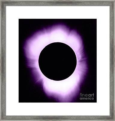 Solar Eclipse Framed Print