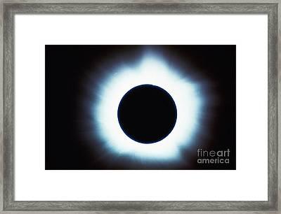 Solar Eclipse Framed Print by Stocktrek Images