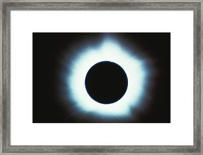 Solar Eclipse Framed Print by Stocktrek