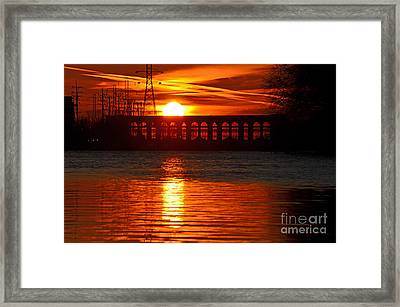 Solar Power Framed Print by Sue Stefanowicz