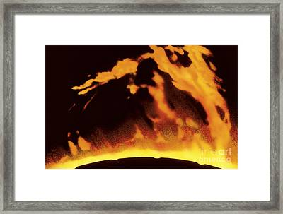 Solar Prominence Framed Print by Hale Observatories