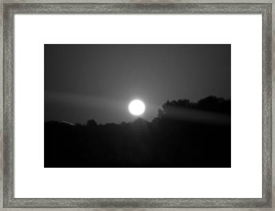 Solar Seesaw Framed Print by DigiArt Diaries by Vicky B Fuller