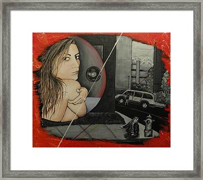 Sold Into A Life Of Prostitution Framed Print by Jean Kieffer