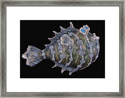 Sold Peter The  Puffer Framed Print by Dan Townsend