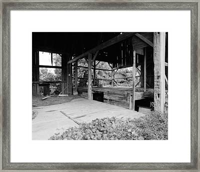 Sold The Siding To A Pizza Place Framed Print by Jan W Faul