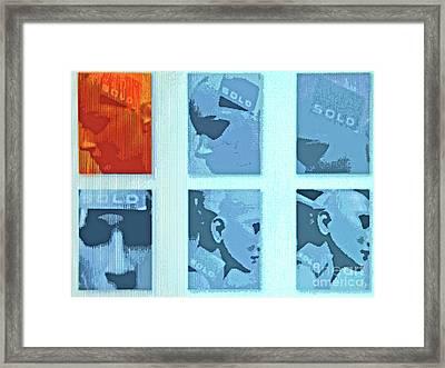 Sold To Number 67 Framed Print by Joe Jake Pratt