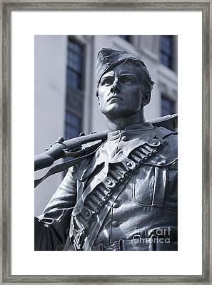Soldier Framed Print by Igor Kislev