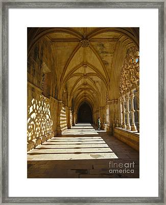 Soldier Passing By Framed Print by Nabucodonosor Perez