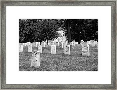 Soldiers At Rest Framed Print