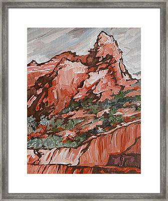 Soldiers Pass Trail Framed Print