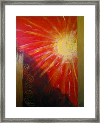 Solis A Collabaration Framed Print
