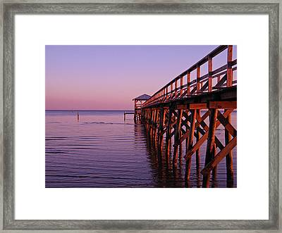 Framed Print featuring the photograph Solitude by Brian Wright