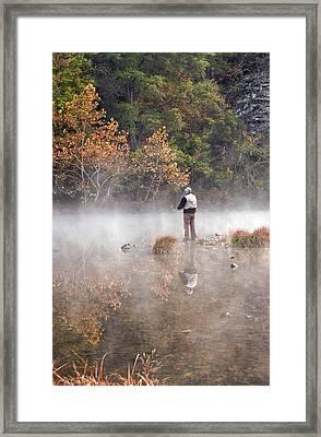 Solitude Framed Print by Cindy Rubin