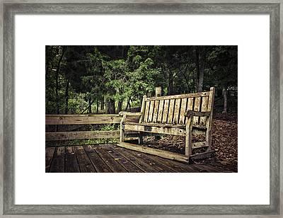 Solitude Framed Print by Elizabeth Wilson