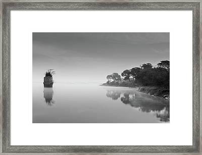 Solitude-ii Framed Print by Amer S Raja - Arifsons, Jhelum.