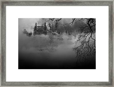 Solitude In Central Park Framed Print by Jeff Burgess