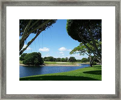 Framed Print featuring the photograph Solitude  by Sheila Silverstein