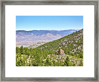 Solitude With A View - Carson City Nevada Framed Print