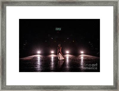 Solo Dance Performance Framed Print by Scott Sawyer