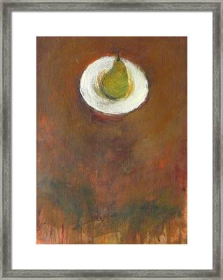 Framed Print featuring the painting Solo by Kathleen Grace