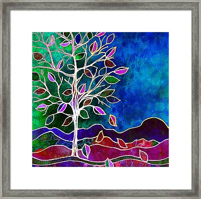Solstice Evening Framed Print by Robin Mead