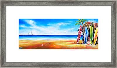 Solway Sailing Framed Print