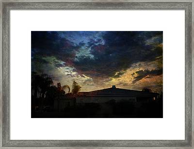 Some Kind Of Madness Framed Print by Laurie Search