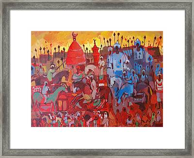 Some Of The History1 Framed Print by Mohamed Fadul
