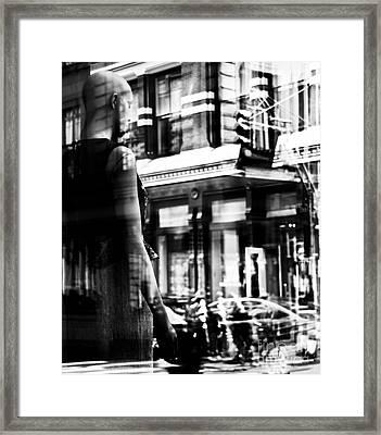 Somehow Sad Framed Print by Lonny Regnier