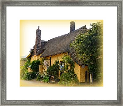 Somerset Tea Room Framed Print